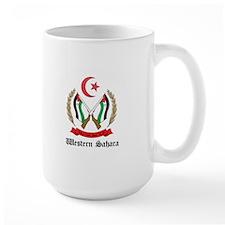 Sahrawi Coat of Arms Seal Mug