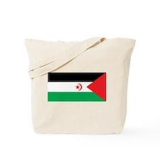 Western Sahara Flag Tote Bag