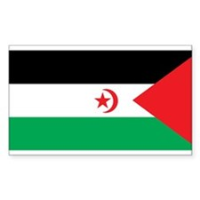 Western Sahara Flag Rectangle Decal