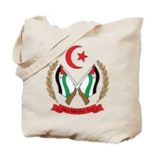 Western Sahara Coat of Arm Tote Bag