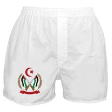 Western Sahara Coat of Arm Boxer Shorts