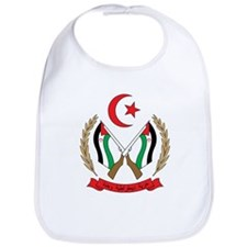 Western Sahara Coat of Arm Bib