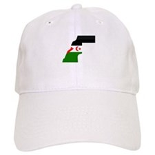 Western Sahara Flag Map Cap