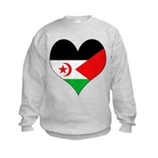 I Love Western Sahara Sweatshirt