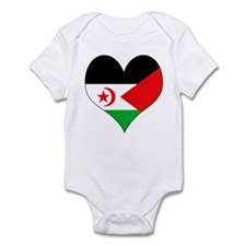I Love Western Sahara Infant Bodysuit