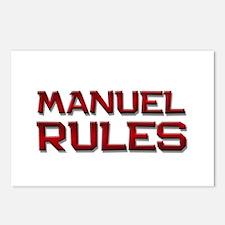 manuel rules Postcards (Package of 8)