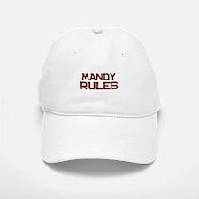 mandy rules Baseball Baseball Cap
