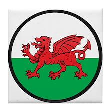 Welsh Island Tile Coaster