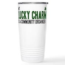 Community Organizer lucky cha Travel Mug