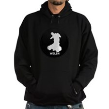 Flag Map of Welsh Island Hoodie
