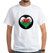 I love Welsh Island Flag Shirt