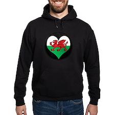 I love Welsh Island Flag Hoodie