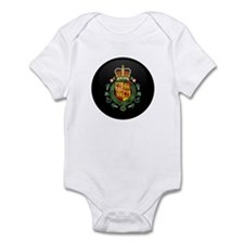 Coat of Arms of Welsh Island Infant Bodysuit