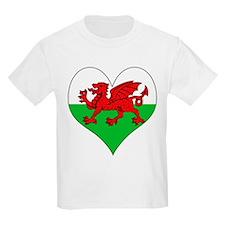 I Love Welsh Island T-Shirt