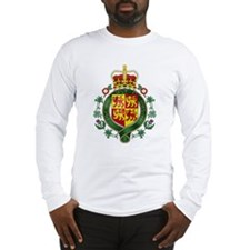 Welsh Island Coat of Arms Long Sleeve T-Shirt