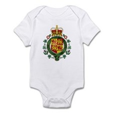 Welsh Island Coat of Arms Infant Bodysuit
