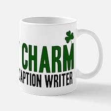 Closed Caption Writer lucky c Mug