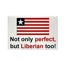 Perfect Liberian Rectangle Magnet