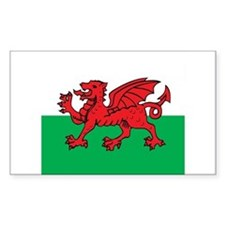 Welsh Rectangle Decal