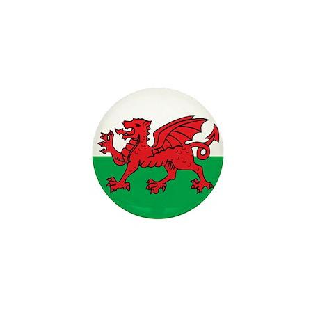 Welsh Mini Button
