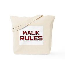 malik rules Tote Bag