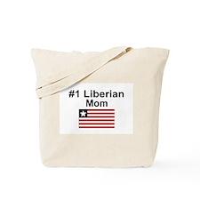 #1 Liberian Mom Tote Bag