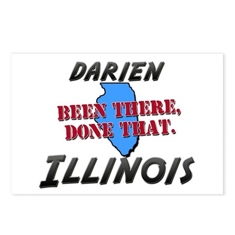 darien illinois - been there, done that Postcards