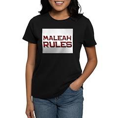 maleah rules Tee