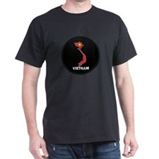 Flag Map of Vietnam T-Shirt