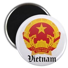 Vietnamese Coat of Arms Seal Magnet