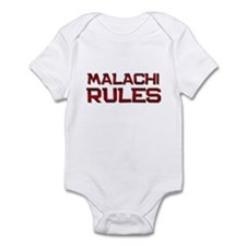 malachi rules Infant Bodysuit