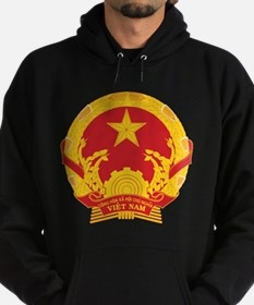 Vietnam Coat of Arms Hoodie (dark)