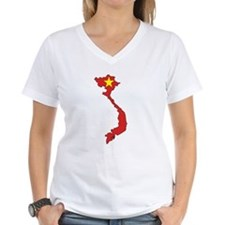 Vietnam Flag Map Shirt