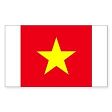 Vietnamese Rectangle Decal