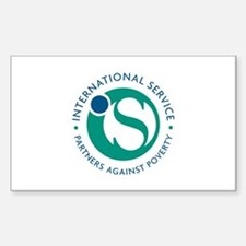 International Service Rectangle Sticker 10 pk)