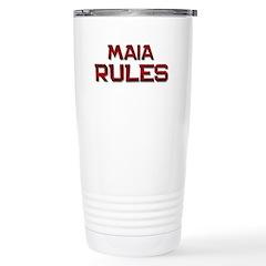 maia rules Stainless Steel Travel Mug