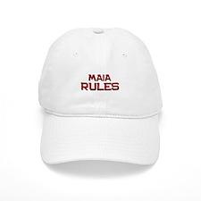 maia rules Baseball Cap