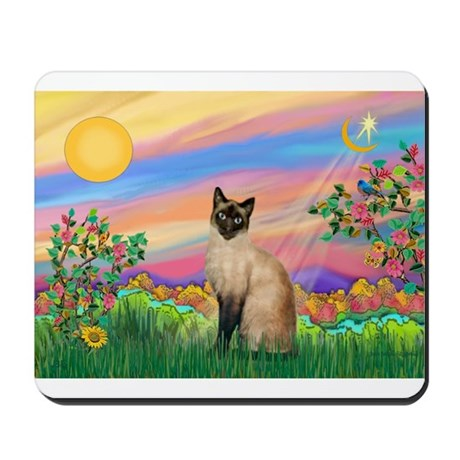 Day Star / Siamese Mousepad