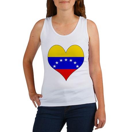I Love Venezuela Women's Tank Top
