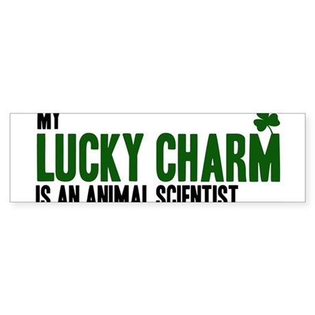 Animal Scientist lucky charm Bumper Sticker