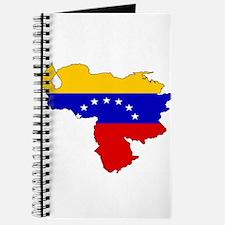 Venezuela Flag Map Journal