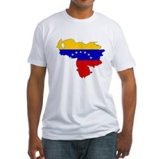 Venezuela Flag Map Shirt