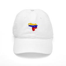 Venezuela Flag Map Baseball Cap