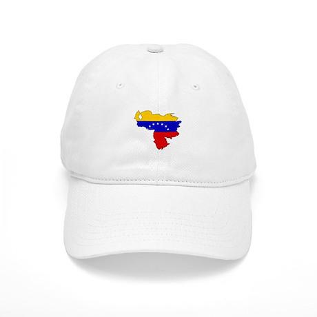 Venezuela Flag Map Cap