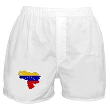 Venezuela Flag Map Boxer Shorts