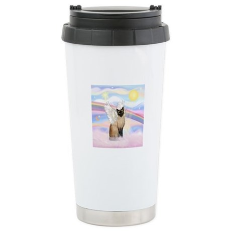 Clouds / Siamese Stainless Steel Travel Mug