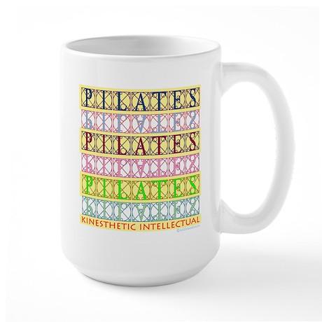 Pilates Kinesthetic Intellectual Large Mug