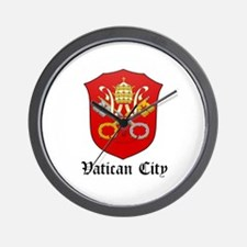 Vatican Coat of Arms Seal Wall Clock