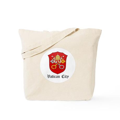 Vatican Coat of Arms Seal Tote Bag