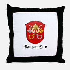 Vatican Coat of Arms Seal Throw Pillow